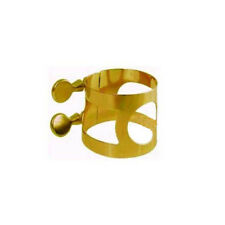 AMERICAN PLATING 336G Tenor Sax Ligature Gold Lacquer