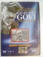 DVD SIGILLATO TUTTO GILBERTO GOVI QUELLO BONANIMA FABBRI EDITORI RAI TRADE