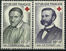 France - 1958 - Croix Rouge YT 1187 - 1188  Neuf