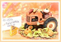 ❤️Wee Forest Folk M-133a Field Mouse LIMITED Fall Harvest Pumpkin Tractor WFF❤️