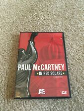 PAUL MCCARTNEY IN RED SQUARE DVD