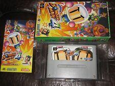 Super Bomberman 4 - Super Famicom Nintendo SFC SNES Japan Import IV Bomber Man