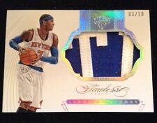 Carmelo Anthony 2014-15 Flawless Patch Knicks 3/20 Sp Wow Sick Patch