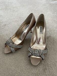 Dune Wedding Mother Of The Bride Bridal Diamanté shoes size 5/38