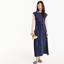 NWT J. Crew Women's Tie-Waist Knit Midi Dress Petite XS PXS XSP $98 SOLD OUT