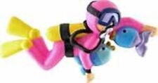 GIRL FEMALE SCUBA DIVER SNORKELING CHRISTMAS ORNAMENT GIFT PERSONALIZE FOR FREE