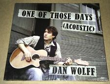 One Of Those Days (Acoustic) by Dan Wolff (CD) Brand New Sealed CD