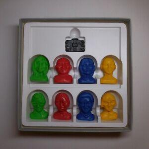Jeu Agent secret DR E SOLOMON 8 figurines PELIKAN HANNOVER Germany N6792