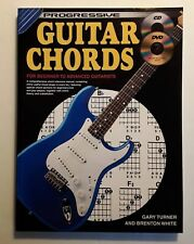 PROGRESSIVE GUITAR CHORDS FOR BEGINNER TO ADVANCED GUITARISTS, CD AND DVD...