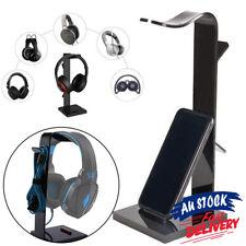 Earphone Headset    Holder For Headphone Acrylic  Desk Display Stand AU Hanger