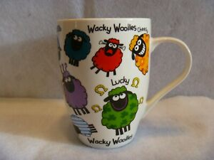 Wacky Woollies Ireland Sheep Coffee Mug Cup