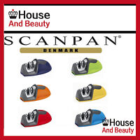 New Scanpan Soft Touch Spectrum Mouse Knife Sharpener Free Shipping Red Blue