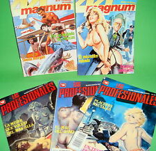 Comics eroticos-comic años 80 - 5 numbers-diferentes-Buen Estado!