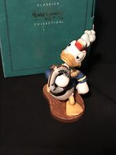 WDCC   DONALD DUCK    SEA SCOUTS   1994 MEMBERS ONLY SCULPTURE