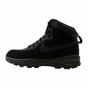 NIKE MANOADOME WALKING BOOTS - BLACK - 844358 003 - UK 7, 7.5, 10, 10.5, 11, 12