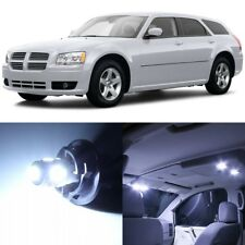 11 x Xenon White Interior LED Lights Package For 2005- 2008 Dodge Magnum +TOOL