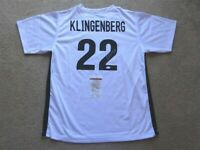 MEGHAN KLINGENBERG SIGNED AUTO UNITED STATES USA WHITE JERSEY JSA AUTOGRAPHED