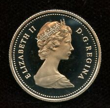 1981 Canada 25 cents Proof Quarter from Mint Set UHCameo