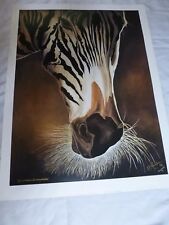 """""""Africa Moves in Black and White"""" limited edition print by Vernon Lawhorn 702/17"""