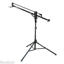 Filmcity 4ft Flylite Pro-4 Camera Jib with Stand Weights LCD Mounting FREE Bag