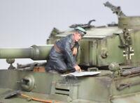 (Pre-Order) German Wehrmacht Tank Crew WWII 1:35 Pro Built Model #4