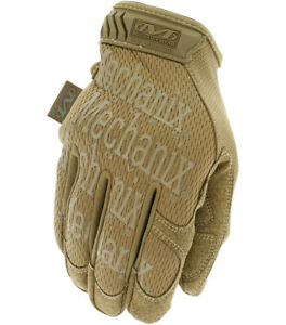 MECHANIX ORIGINAL TACTICAL GLOVES TOUCH-SCREEN COMPATIBLE SIZES SML-XXL, COYOTE