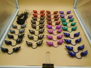 LOT OF 30 LIGHTLY USED PAIRS OF TANNING BED GOGGLES WITH BANDS / LOT #2