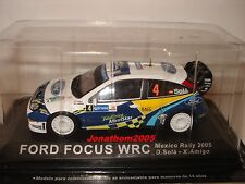 FORD FOCUS WRC N° 4 MEXICO RALLY 2005 D. SOLA - X. AMIGO  au 1/43°