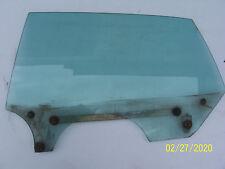 1970 FLEETWOOD LEFT REAR DOOR WINDOW GLASS OEM USED CADILLAC PART 1969