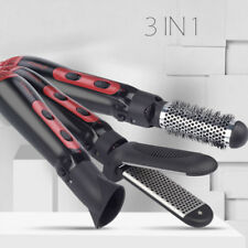 3 In 1 Multifunction Hair Dryer Styler Curler Comb Blow Straight