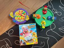 Tolles Set Lernspiele Kinderspiele Angeln Schweine Schwarte NP:60?