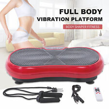 Full Body Vibration Machine Platform with Remote Control Fitness Slim Exercise