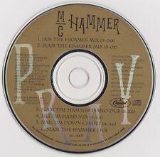 MC Hammer: Pray PROMO MUSIC AUDIO CD Jam Slam Remixes Piano Dub Chant 6trk 79459