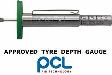 PCL Tyre Tread Depth Gauge Car, Van & Bike Wheel Check VOSA Approved MOT, NCT