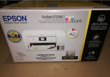 New Epson EcoTank ET-2760  Edition All-in-One Wireless Printer Bonus Ink