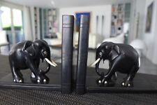 Buchstützen book ends mit Elefanten elephants