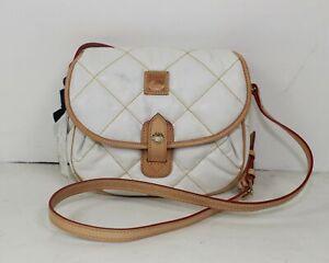 DOONEY & BOURKE Ivory Crossbody Messenger Bag NEW