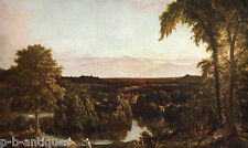 """1960 Art Print """"In The Catskills"""" NY by Thomas Cole American Free Shipping"""