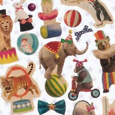 Mindwave Made in Japan Vintage style Kraft paper circus sticker