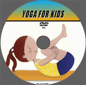 YOGA FOR KIDS DVD EASY TO FOLLOW FOR HEALTH/FITNESS PARENTS CHILDREN TODLERS NEW