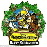 WDW Happy Holidays 2006: Coronado Springs Resort LE 750 Pin