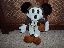 Vintage Stuffed Football Mickey Plush With Helmet