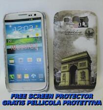 Pellicola+custodia BACK ARCO DI TRIONFO per Samsung I9300 Galaxy S III I9301