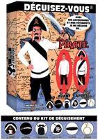 Déguisement Homme Kit PIRATE Costume Adulte Corsaire NEUF Pas cher