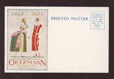 ADVERTISING 1925 PPC OETZMANN FASHION FURNISHINGS