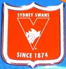 81711 AFL SYDNEY SWANS LAPEL PIN BADGE