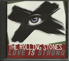 ROLLING STONES Love is Strong BOB REMIX PROMO DJ CD Single 1994 Mick Jagger