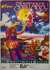 Affiche Concert SANTANA 1990