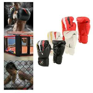 Boxing Practice Training Gloves Sparring Latex Kickboxing Gym Fight Punching