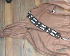ADULT ONE PIECE PJ's Fleece Pajamas Chewbacca Licensed Star Wars Mens Large
